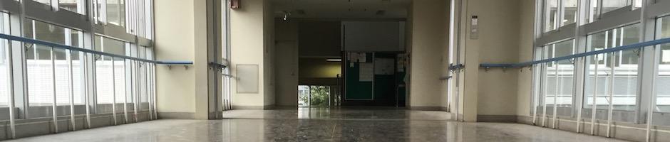 高校の渡り廊下