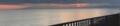 夕暮れの七里ヶ浜