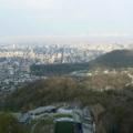 大倉山から札幌市内を臨む