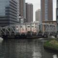 八丁堀の南高橋、「東京都内最古の鋼鉄トラス橋」