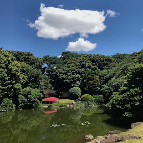 東京国立博物館、庭園
