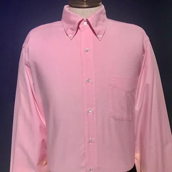 Brooks Brothers' Pink Shirt
