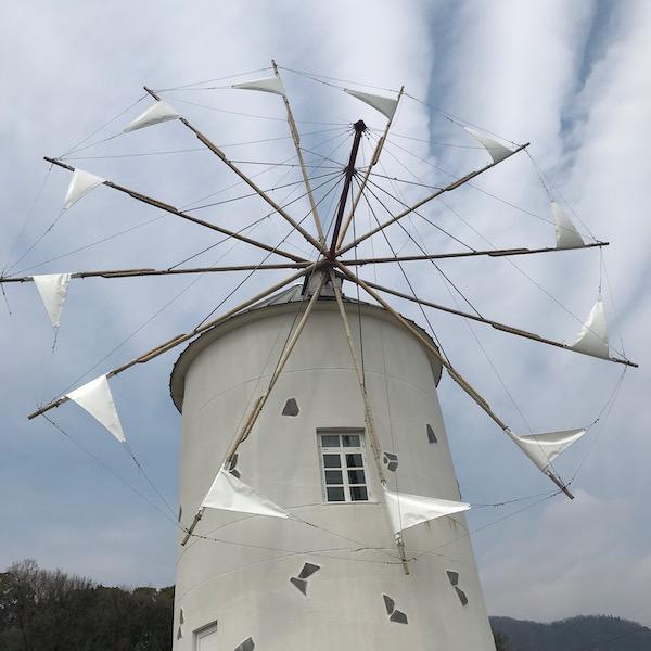 ギリシア風の風車