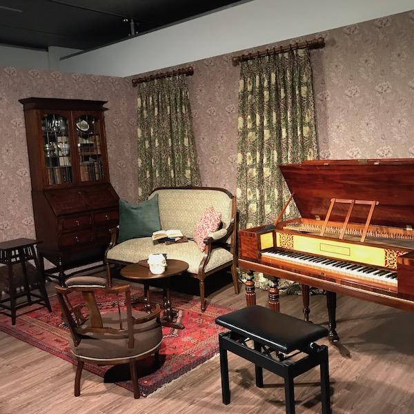 モリス風の部屋