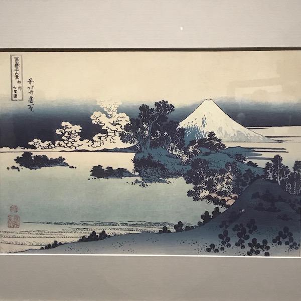 富嶽三十六景、江ノ島