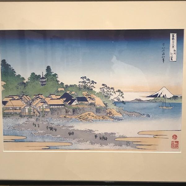 富嶽三十六景、七里ヶ浜