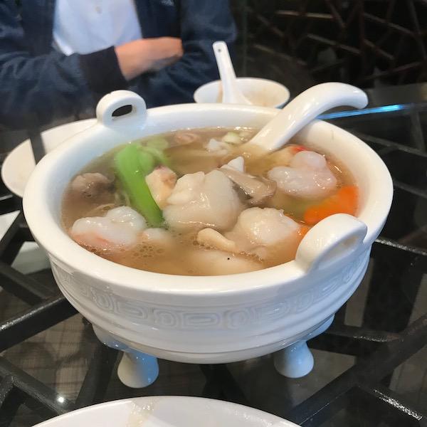 北平陶然亭餐廳、北京ダック