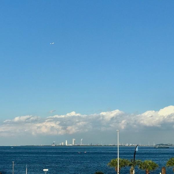 横須賀美術館からの眺望