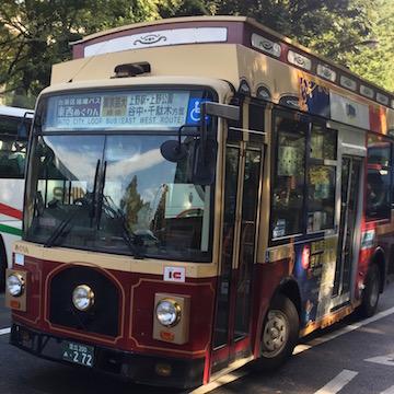 台東区の循環バス、めぐりん