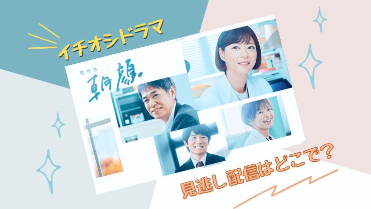 監察医朝顔2 見逃し シーズン1 再放送