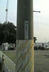 電柱番号。