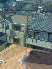 白岡町小久喜S様アンテナ工事完了。