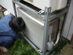 エアコン交換工事。