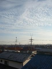 鴻巣市ひばり野F様受信方向(東京タワー)の景色。