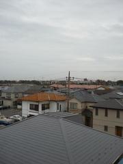 伊奈町栄N様受信方向(東京タワー方向)の景色。