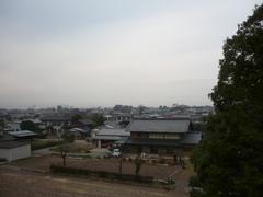 行田市小見K様受信方向(前橋局方向)の景色。