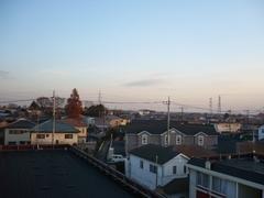 鴻巣市箕田T様 東京タワー方向の景色。