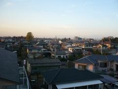 鴻巣市箕田T様 前橋局方向の景色。