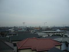 鴻巣市新宿S様 東京タワー方向の景色。