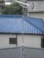 桶川市泉T様 アンテナ工事完了。