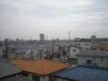 桶川市泉T様 東京タワー方向の景色2。