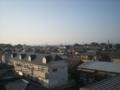 深谷市東大沼N様 前橋局方向の景色。