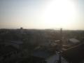 深谷市東大沼N様 児玉局方向の景色。