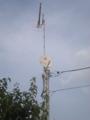 深谷市東大沼N様 アンテナ工事完了。