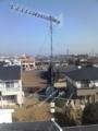 深谷市上柴東Y様 既設アンテナ。
