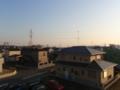 白岡町高岩M様 東京タワー方向の景色(完了)。
