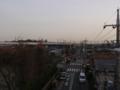 白岡町西T様 東京タワー方向の景色。