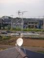 桶川市上日出谷S様 アンテナ工事完了。