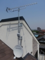 桶川市朝日Y様 アンテナ工事完了。