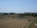 深谷市上野台M様 児玉局方向の景色。