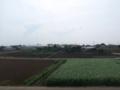 深谷市上野台M様 児玉局方向の景色(完了)。