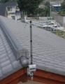 深谷市上野台M様 アンテナ工事完了。
