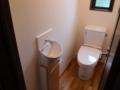 リフォームされたトイレ。