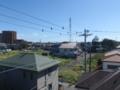 桶川市下日出谷T様 東京タワー方向の景色(完了)。