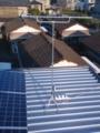 桶川市若宮K様 アンテナ工事完了。