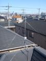 桶川市神明S様 アンテナ工事完了。