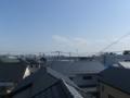 桶川市朝日M様 東京タワー方向の景色。