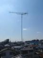 桶川市坂田M様 アンテナ工事完了。