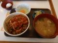 キムチ牛丼肉1.5盛 とん汁たまごセット - すき家 鴻巣店。