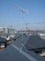 鴻巣市ひばり野S様 アンテナ工事完了。