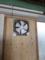 100V壁付け換気扇はつきました。