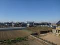 鴻巣市赤城M様 前橋局方向の景色(完了)。