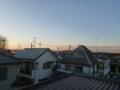 羽生市東H樣 前橋局方向の景色。