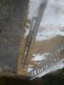ラスボス、既設鋼管ポールの残骸です。