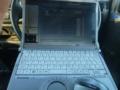 待ち時間は、ノートパソコン、Let's CF-N8を作業車内で立ち上げます。