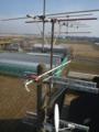 既設の電柱上のアンテナです。